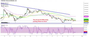 SHIB/USD still down, when most cryptos are bullish
