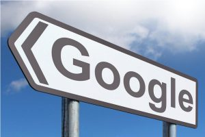 Google shares reversing higher at MAs